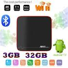 3GB+32GB M8S PRO W Android 7.1 TV BOX S905W Quad Core WiFi HDMI 4K UHD 3D Media