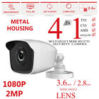 Bullet CCTV CAMERA 2.0MP FULL HD 1080P OUTDOOR NIGHTVISION 4IN1 TVI AHD CVI CVBS