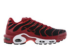NIKE AIR MAX PLUS TUNED 1 TN TOUGH RED/BLACK/CHILE RED TRAINERS SIZE U.K 7-10