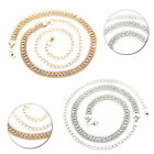 1 Row Diamante Waist Belt Gold Silver Stylish Chain For Women Fashion Jewellery
