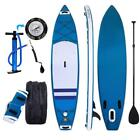 "SUP Inflatable Stand Up Paddle Board 10'10""x31.5""x7"" w/ Paddle Backpack Pump Kit"