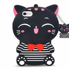 3D Cartoon Silicone Soft Case Cover Skin For iPhone 5S 6 7 8 Plus iPod Touch 6/5