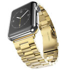 For Apple Watch iWatch 1/2/3/4 Stainless Band Bracelet Watch Strap 38/40/42/44mm