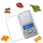 Mini Digital Portable Scale 200g x 0.01g Jewelry Pocket Balance Weight Gram LCD