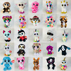 "6""ty Beanie Boos Glitter Eyes Plush Stuffed Animals Toys Kids Xmas Gift Fun Toy"