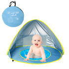 Baby Beach Tent Portable Shade Pool UV Protection Sun Shelter For Infant+Bag USA