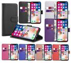 Case for iPhone 6 7 8 5s Plus XR XS Max Flip Wallet Leather Cover Magntic Luxury