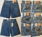 Levis Mens 550 Relaxed Fit Denim Shorts 29, 30, 31, 32, 33, 34, 36, 38, 40,42,44