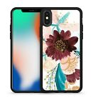 Painted Pretty Artistic Colourful Luscious Lovely Flowers Soft Gel Phone Case