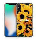 Yellow Quote Blooming Beautiful Brilliant Sunflowers Lush Soft Gel Phone Case