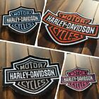 Patch Iron-On or Sew-On Harley-Davidson Logo Embroidered Applique Jacket $7.0 USD on eBay