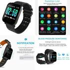 Smart Watch with Heart Rate Monitor Fitness Tracker Blood Pressure