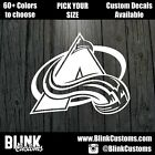 Colorado Avalanche Team Decal Window Decal Sticker $14.99 USD on eBay