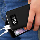 2USB 50000mAh Battery Pack LCD Power Bank LED Portable Charger For Cell Phone US
