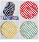 VINTAGE STYLE 1940's PERKY SNOOD - HAND CROCHETED 13 COLOURS AVAILABLE