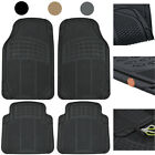 Rubber Car Floor Mats 6 Pack Heavy Duty All Weather Protection - Various Colors $80.88 USD on eBay