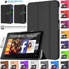 magnetic leather smart flip stand case cover for amazon kindle fire hd 10 2019