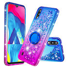 Bling Flowing Liquid Glitter Phone Case Cover For Samsung Galaxy M20 S10 A6 Plus