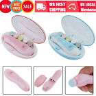 Electric Baby Nail Trimmer - Safe Toenail And Fingernail Clipper With LED Light