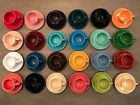 Homer Laughlin Fiesta Fiestaware Tea Cup and Saucer Set, Many Colors-You Choose!
