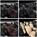 All 5-Seats Car Interior Seat Mat Cushion Chair Cover PU Leather Pad Durable UDW on eBay
