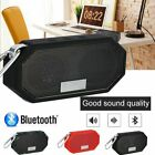 Bluetooth Speaker Waterproof Outdoor Stereo Bass USB/TF/FM Radio Audio
