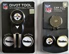Pittsburgh Steelers NFL Switchblade Divot Tool & Ball Marker Tin Gift Set - NWT $19.99 USD on eBay