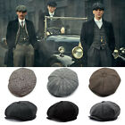 Mens Gatsby Cap Golf Driving Flat Hat Winter Warm Cabbie Beret Newsboy Ivy Hat