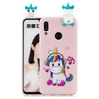 3D Cartoon Cover Case For Huawei Honor 10 Lite Y6 Y7 Y9 P Smart 2019 Honor 8A 8X