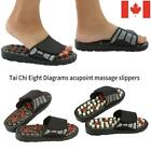 1 Pair Shoes Reflex Massage Sandals Slippers Acupuncture Shoe Foot Massager CA