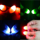 Kyпить Red Blue Colorful LED Magic Light Up Thumb Finger Props Trick Lights Party на еВаy.соm