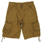 Men's Multi Pocket Cotton Cargo Shorts Short Pants