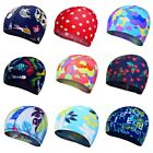 Kid Girl Boy Caps Elastic Swimming Cap Waterproof Protect Ears Swim Pool Hat USA $4.6 USD on eBay