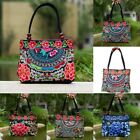 Chinese Style Women Handbag Embroidery Ethnic Summer Fashion Handmade Flowe R9W7 image