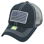 Baseball Cap US Flag USA America Mesh Trucker Hip Pop Golf Hiking Beach Summer