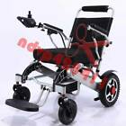 Folding Lightweight Electric Power Wheelchair Old Elderly Disabled Wheelchair