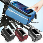 Bicycle Cycling Outdoor Portable Fixed Front  Tube Bag for Smart Phone GIFT