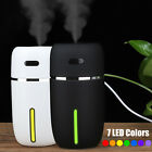 USB Mini Air Humidifier Aroma Diffuser Cars Essential Oil Air Purifier with LED