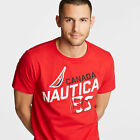 Nautica Mens Canada Graphic T-Shirt