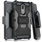 For Coolpad Legacy - Heavy Duty Hybrid Holster Case Belt Clip Cover W/ Kickstand