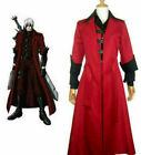 Unisex's Devil May Cry Dante DMC Cosplay Costume Jacket Coat Cosplay