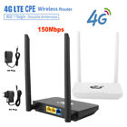 Unlocked 4G LTE Wifi Router 150Mbps Wireless Router with SIM Card Slot&RJ45 Port