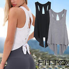 Unreserved Back Workout Top Shirts - Yoga T-Shirts Activewear Exercise Tops for Womens