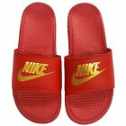 NIKE Men's Benassi Just Do It Athletic Slide Sandal 343880-602 Priority Shipping