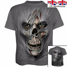 Casual Short sleeve silk Tops Skull Fashion 3D Printed Men's T-shirt Clothing...
