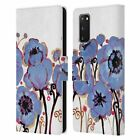 OFFICIAL NATASHA WESCOAT FLORALS LEATHER BOOK CASE FOR SAMSUNG PHONES 1