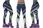 NFL Football Women's Sports Fitness Leggings Teams