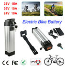 36V 15Ah Lithium E-bike Battery Electric Bicycle Li-ion Lockable w/2A Charger UK <br/> Environment Friendly√Power Display√Long-Term Use√UK DPD