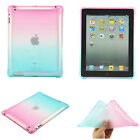 Crystal Gradient Soft TPU Case Cover For iPad 10.5/5th/6th Gen/Pro 9.7/Air/Mini