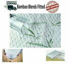 Mattress Protector Waterproof Bamboo Soft Hypoallergenic Fitted Pad Cover BT image